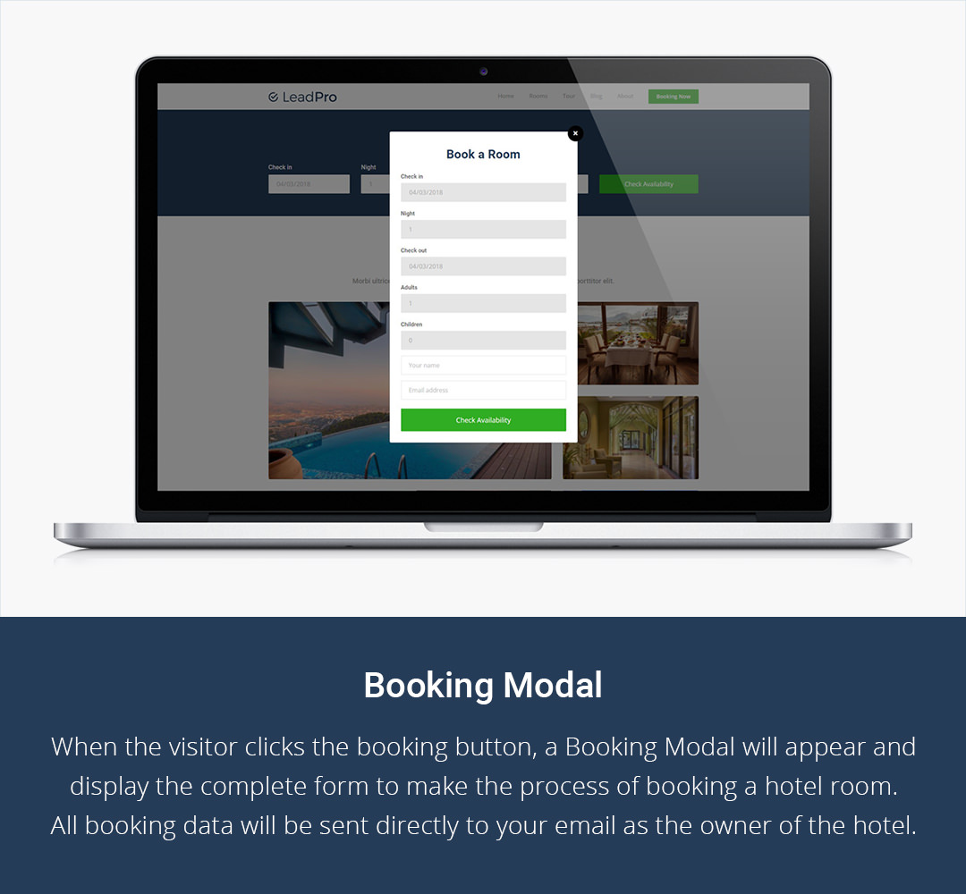 Booking Modal