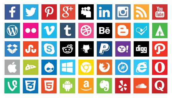 free-fresh-flat-social-media-icons-1