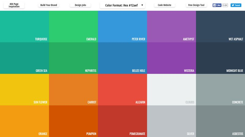 Flat UI Color