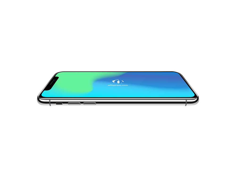 iPhone X top