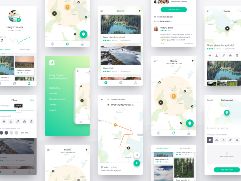 Free Download Harmony UI Kit Mobile App for Sketch | Affapress