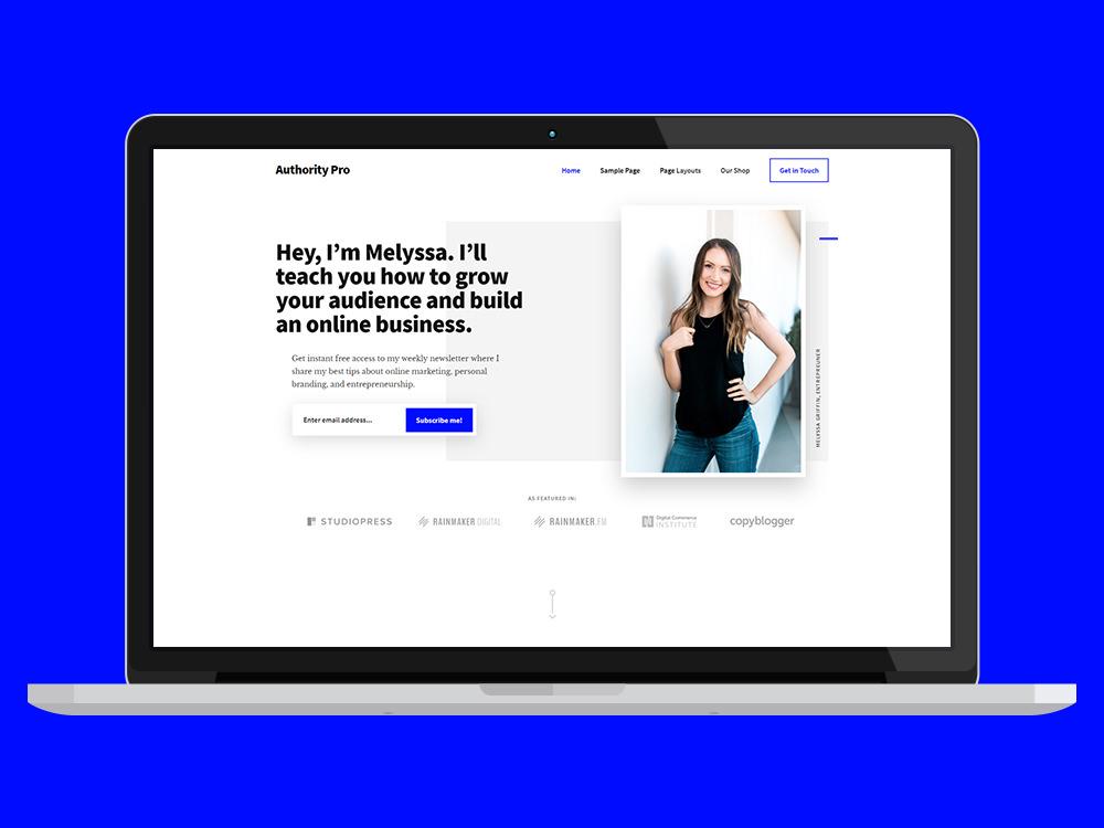 Authority Pro Business WordPress Theme