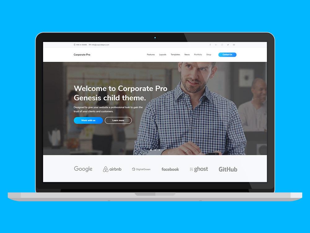 Corporate Pro Business WordPress Theme
