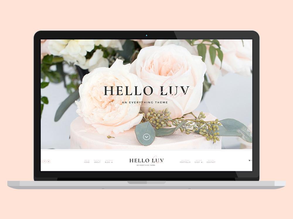 Hello Luv Business WordPress Theme