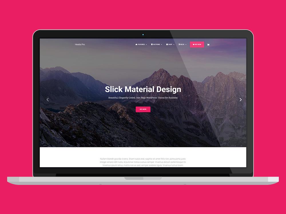 Hestia Pro Multi-Purpose WordPress Theme