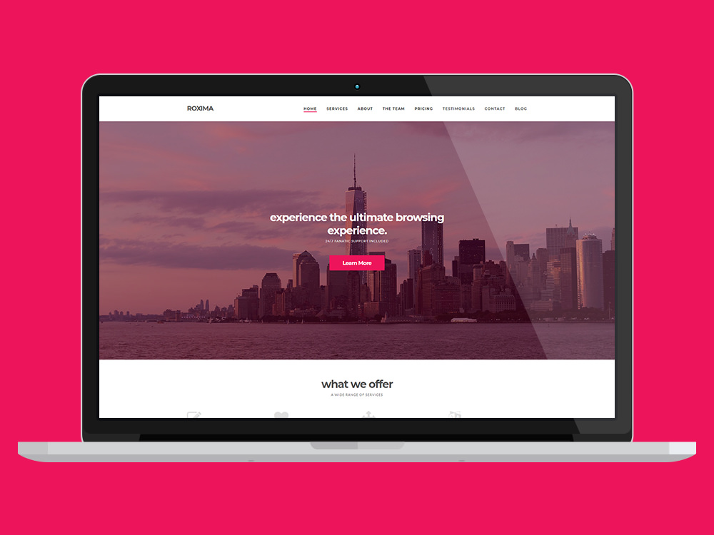 Roxima Business WordPress Theme