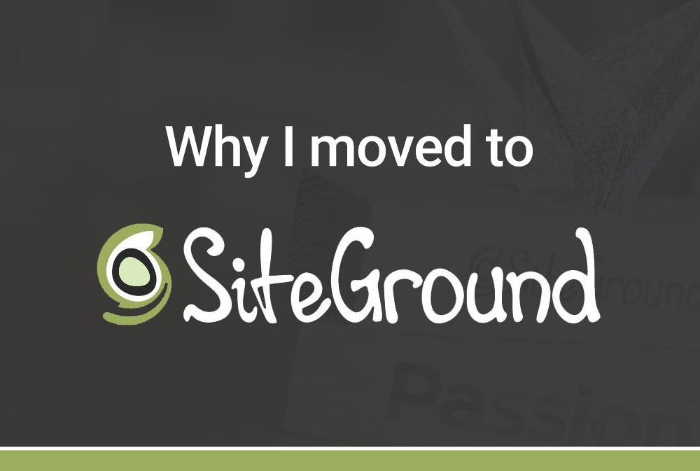 Hosting  Siteground Box Opening