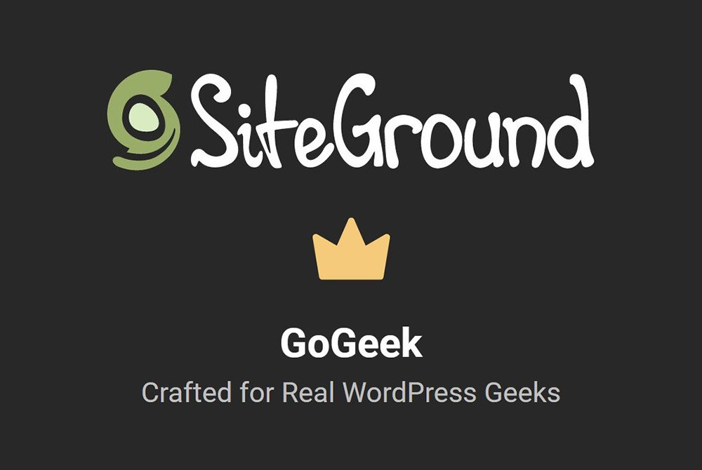 Using Siteground Hosting