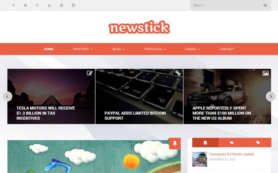 newstick-theme