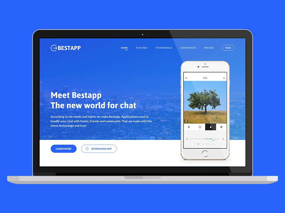 bestapp_landing_page