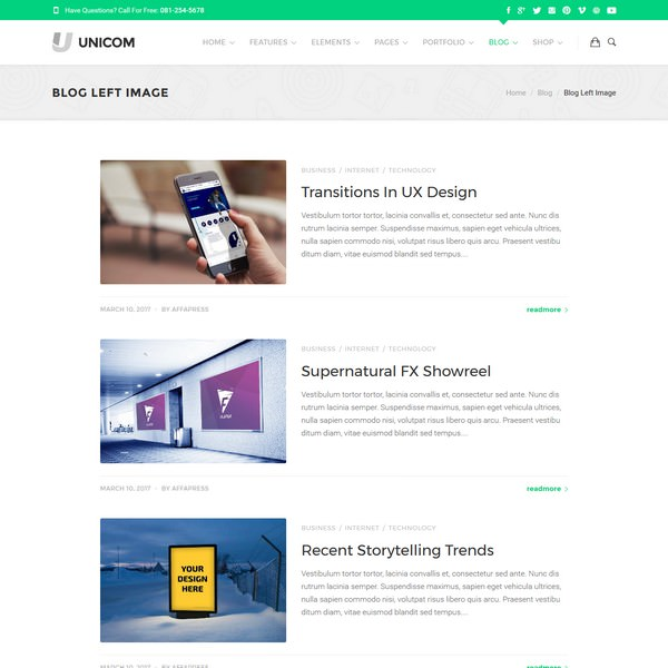 Unicom Blog