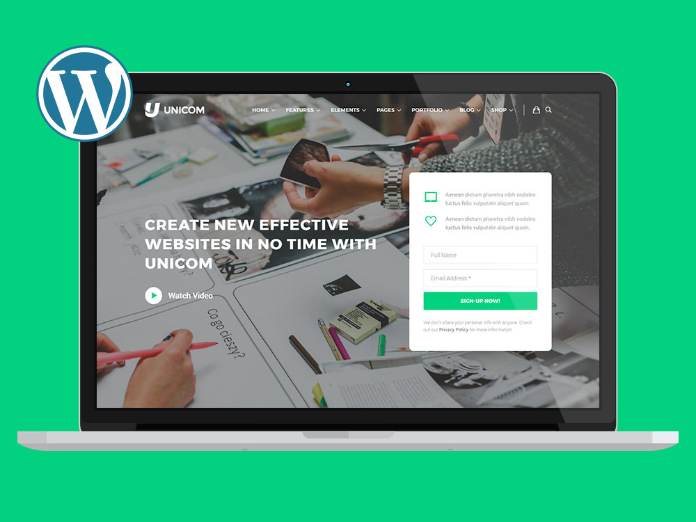 unicom-wordpress